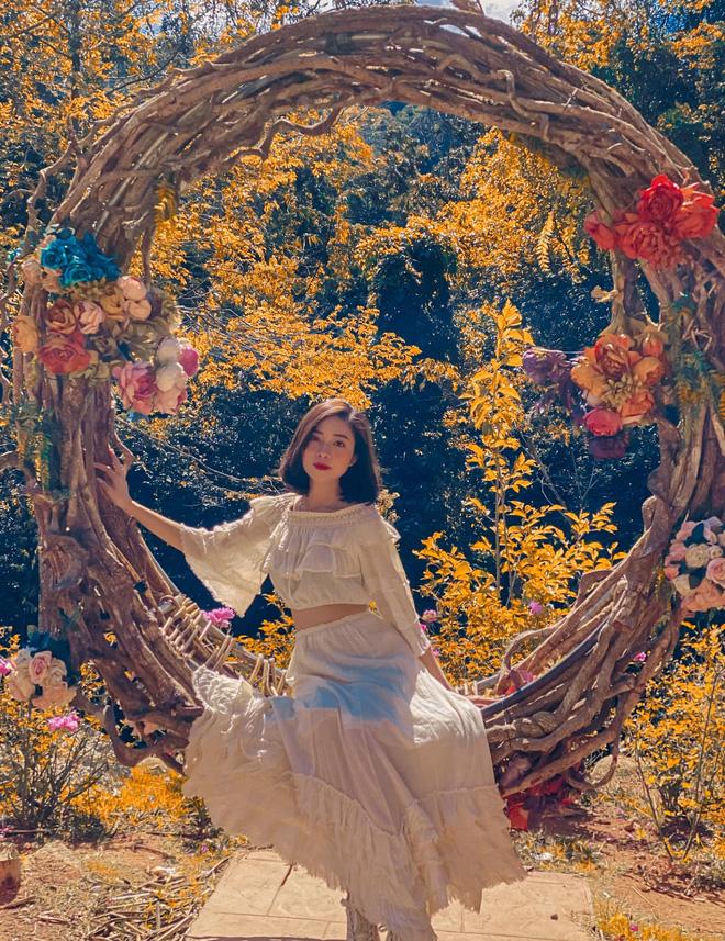 Vợ chồng Văn Đức - Nhật Linh đi hưởng tuần trăng mặt ở Đà Lạt, khoe ảnh sống ảo ở khung cảnh đẹp mê hồn-1