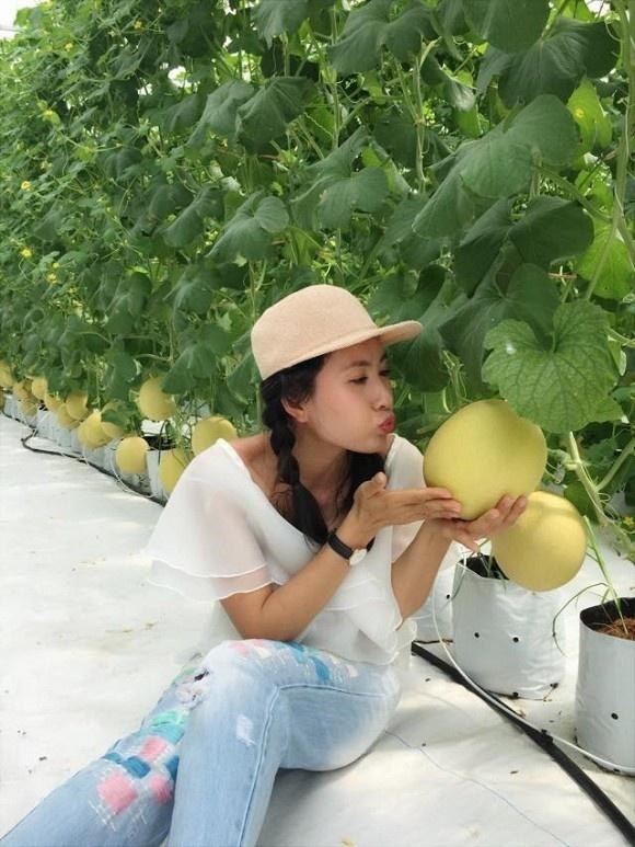 Khám phá nông trại dưa trĩu quả của diễn viên Nguyệt Ánh-15