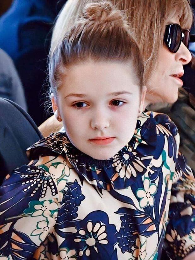 Ngồi trong lòng bố, công chúa nhỏ Harper Beckham lại khiến dân tình xao xuyến: Mỹ nhân tương lai của Hollywood đây rồi!-4
