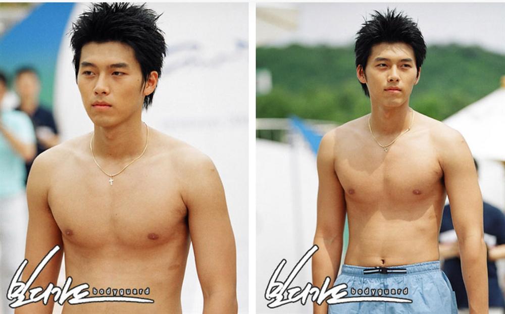 Khi dân tình đang săn lùng bằng chứng hẹn hò của Hyun Bin với Son Ye Jin thì fanti lại đào mộ loạt ảnh mát mẻ khoe body siêu hài hước thế này-1
