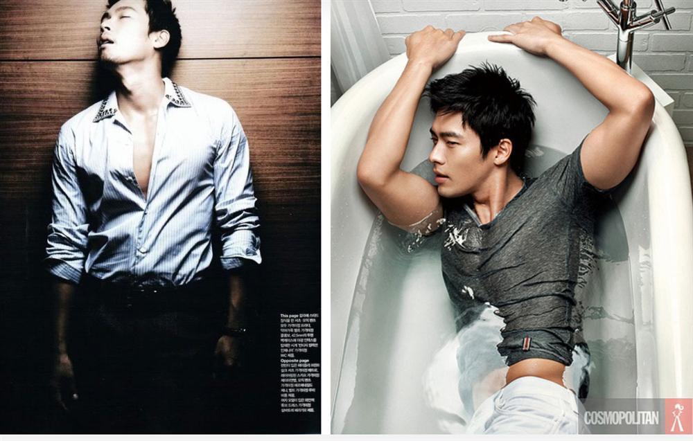 Khi dân tình đang săn lùng bằng chứng hẹn hò của Hyun Bin với Son Ye Jin thì fanti lại đào mộ loạt ảnh mát mẻ khoe body siêu hài hước thế này-4