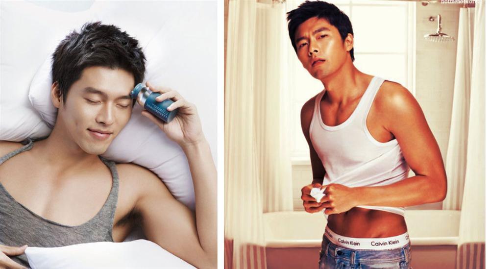 Khi dân tình đang săn lùng bằng chứng hẹn hò của Hyun Bin với Son Ye Jin thì fanti lại đào mộ loạt ảnh mát mẻ khoe body siêu hài hước thế này-7