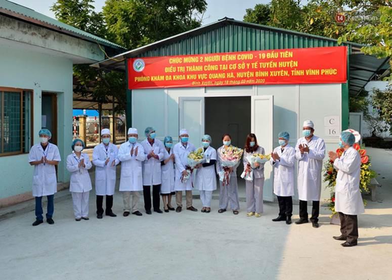 Bệnh nhân nhiễm Covid-19 ở Vĩnh Phúc gửi lời xin lỗi khi xuất viện-1