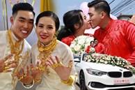 Tiết lộ thêm về đám cưới 2,5 tỷ hồi môn và 49 cây vàng đang gây sốt MXH: Cặp đôi quen nhau 8 tháng, gia đình nhà chú rể cũng 'không phải dạng vừa đâu'