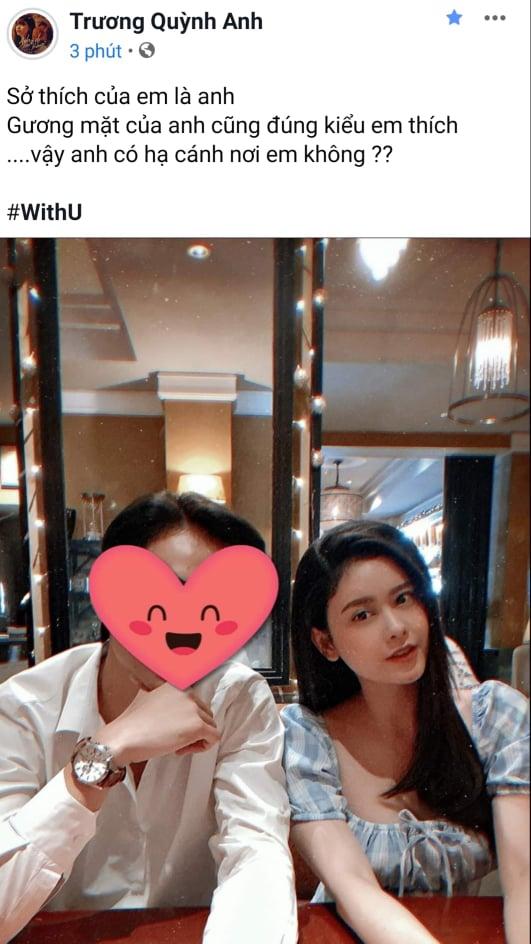 Ly hôn đã lâu, Trương Quỳnh Anh lại chơi trò ú tim khi đăng ảnh tình tứ bên chồng cũ?-2