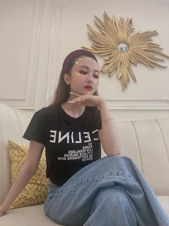 Mất tích hơn tháng trời trên Instagram, Mina Phạm - vợ 2 Minh Nhựa bất ngờ tái xuất với diện mạo khác lạ, bớt hẳn photoshop-2