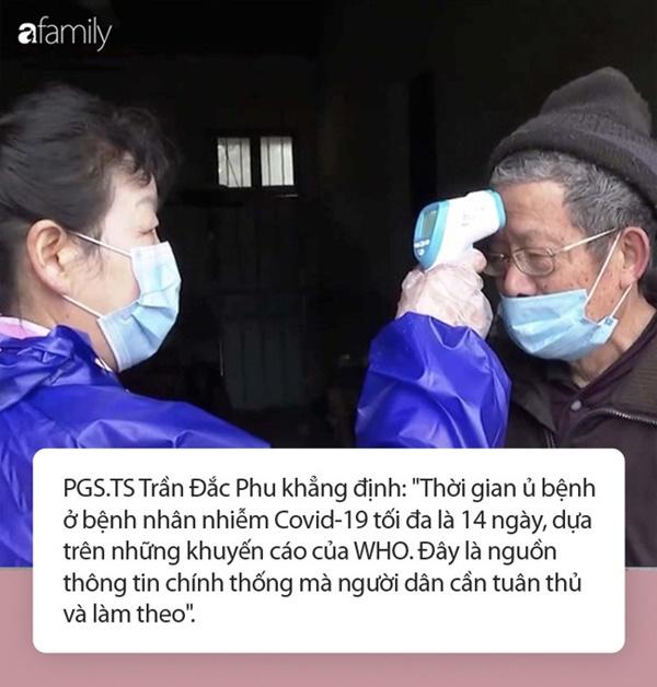 """Xuất hiện thông tin thời gian ủ bệnh siêu dài của Covid-19: Giới chuyên gia đầu ngành khẳng định Chỉ là trường hợp hiếm gặp, người dân không cần quá lo lắng!""""-3"""
