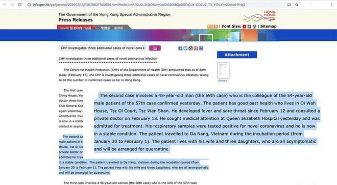 Sở Du lịch nói đang kiểm tra và rà soát thông tin bệnh nhân Covid 19 người Hồng Kông từng đến Đà Nẵng-2