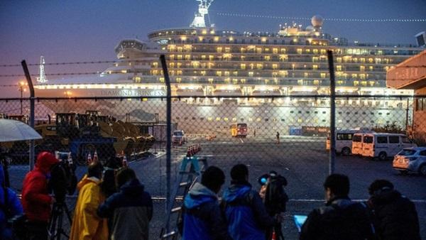 Du thuyền bị cách ly ở Nhật bắt đầu thả gần 3000 người sau 14 ngày cô lập với những lưu ý đặc biệt-1