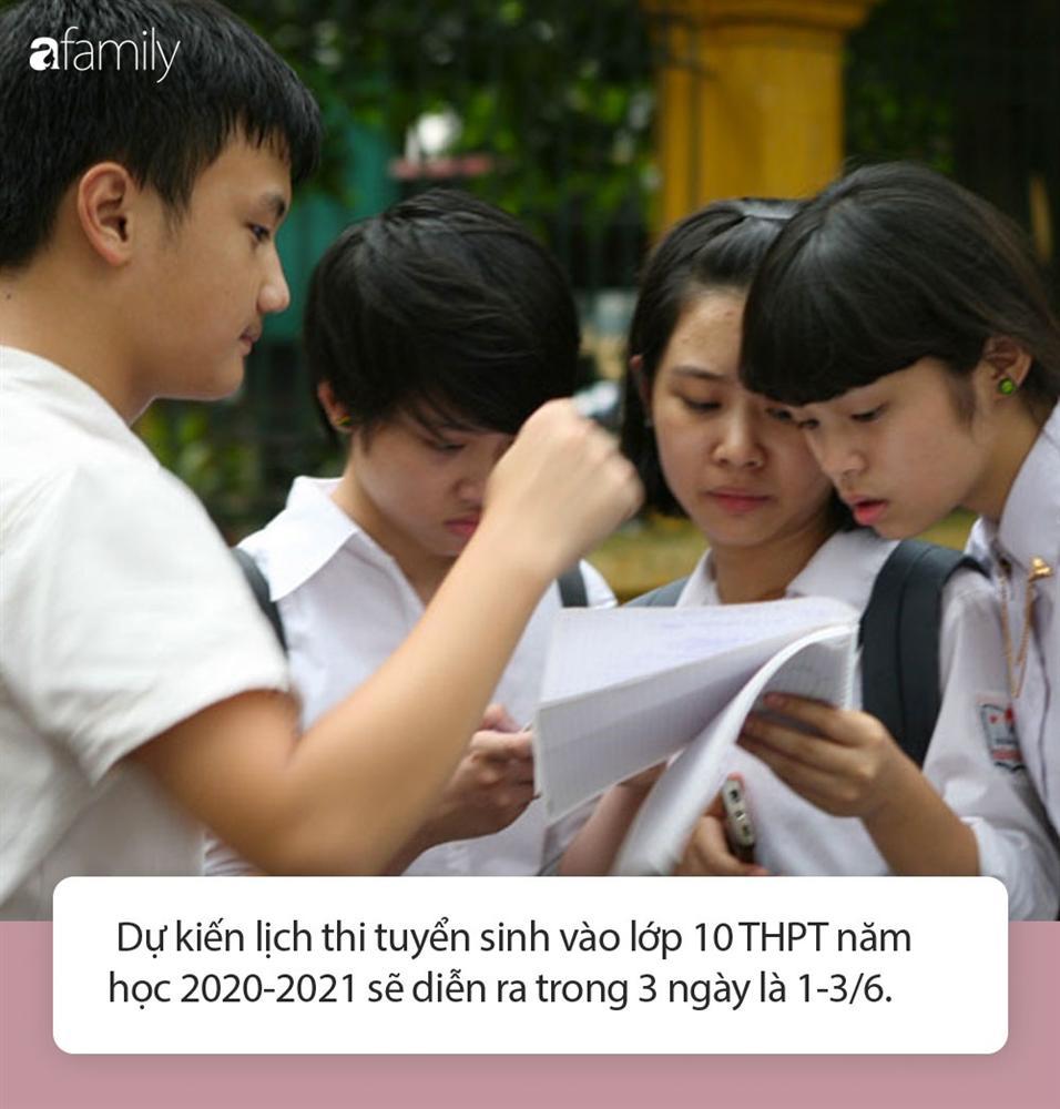 Cha mẹ lưu ý: Tuyển sinh lớp 10 năm học 2020 - 2021 tại Hà Nội dự kiến sẽ sớm hơn 1 ngày so với năm ngoái-5