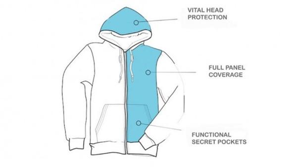 Cô gái gốc Việt chế tạo áo khoác thời trang chống đạn giá rẻ đầu tiên trên thế giới-3
