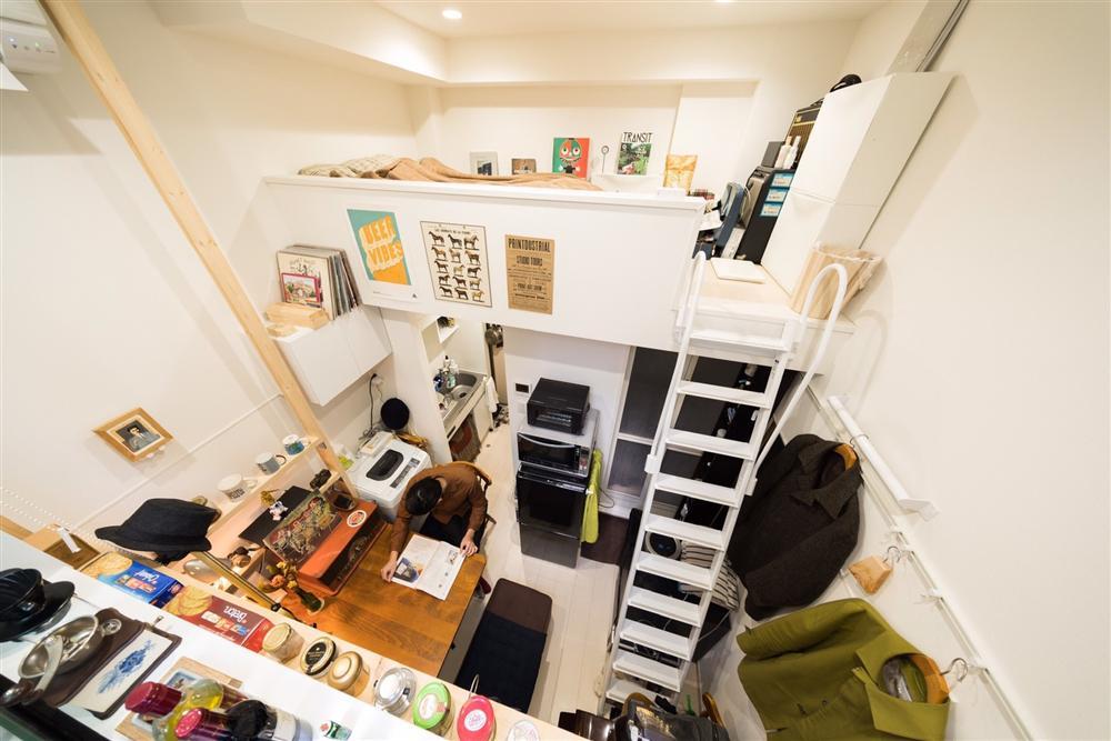 Thăm những căn hộ siêu nhỏ chỉ có 4m² được sử dụng phổ biến bởi những người trẻ tại Nhật-6