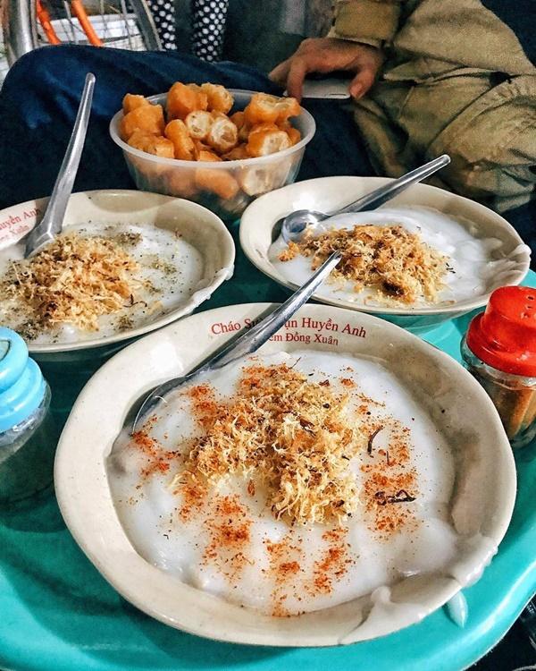 Ấm bụng ngày cuối đông với 5 hàng cháo thơm ngon, nóng hổi ở Hà Nội-7