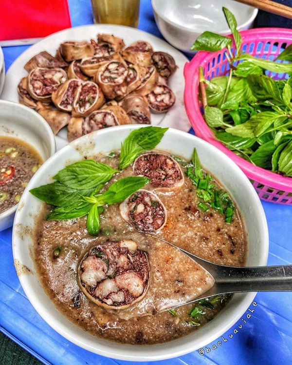 Ấm bụng ngày cuối đông với 5 hàng cháo thơm ngon, nóng hổi ở Hà Nội-10