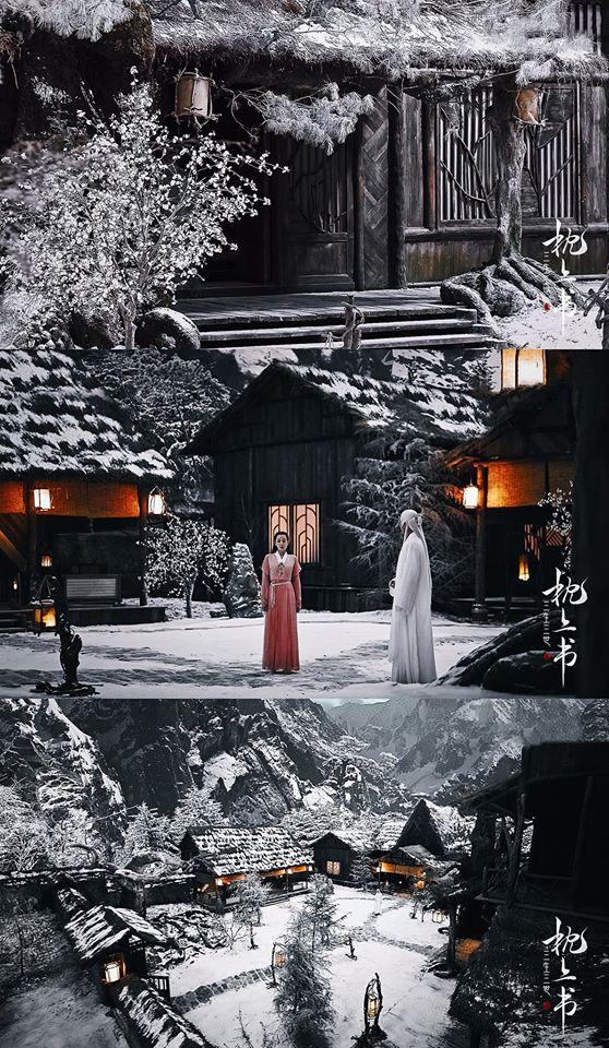 Tam sinh tam thế Chẩm thượng thư lần đầu công bố: Khung cảnh yêu đương đẹp mê mẩn của Địch Lệ Nhiệt Ba - Cao Vỹ Quang-2