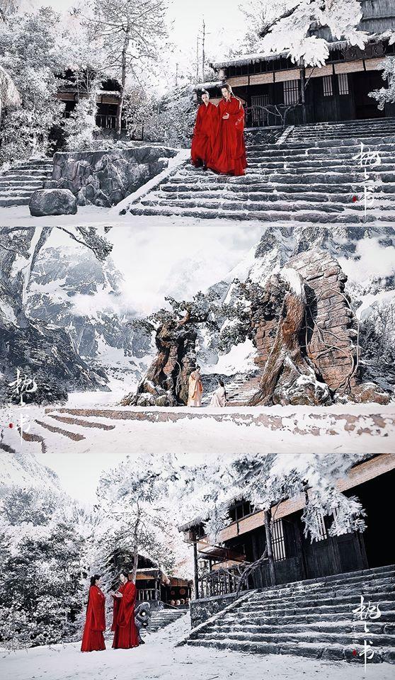 Tam sinh tam thế Chẩm thượng thư lần đầu công bố: Khung cảnh yêu đương đẹp mê mẩn của Địch Lệ Nhiệt Ba - Cao Vỹ Quang-3
