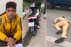 Danh tính nam thanh niên chở cô gái đâm gục CSGT ở Hà Nội