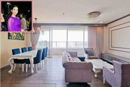 Hoa hậu Thu Hoài rao bán căn hộ 168 m2