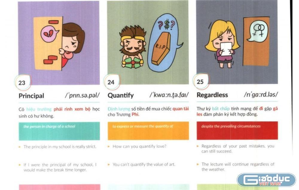 Bức xúc trước sách Tiếng Anh dạy học vẹt, minh họa bằng hình ảnh trẻ hút thuốc lào, con thản nhiên xúc phạm mẹ-3