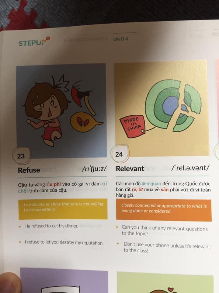 Bức xúc trước sách Tiếng Anh dạy học vẹt, minh họa bằng hình ảnh trẻ hút thuốc lào, con thản nhiên xúc phạm mẹ-5