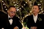 Hoàng Touliver cùng Binz 'quẩy' trong đám cưới