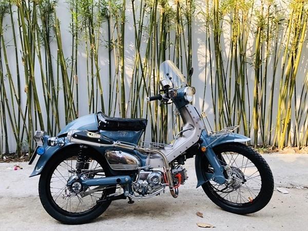 """Honda Super Cub 1968 biển tứ quý 6"""" rao giá 100 triệu gây xôn xao-1"""