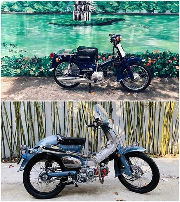 """Honda Super Cub 1968 biển tứ quý 6"""" rao giá 100 triệu gây xôn xao-2"""