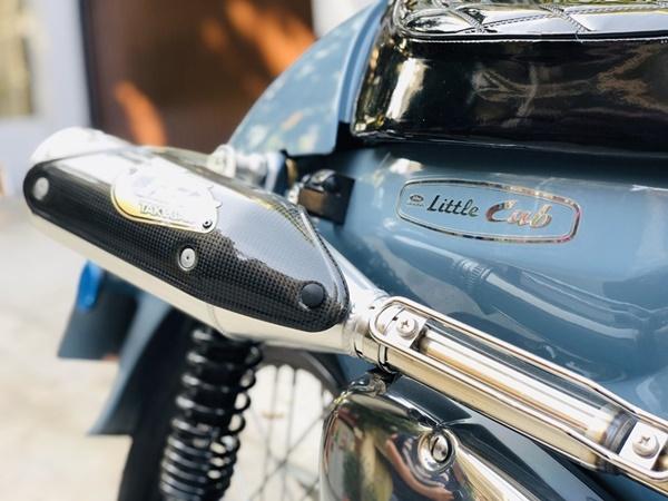 """Honda Super Cub 1968 biển tứ quý 6"""" rao giá 100 triệu gây xôn xao-4"""