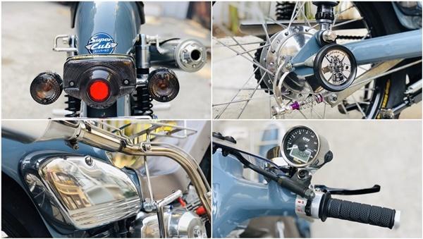 """Honda Super Cub 1968 biển tứ quý 6"""" rao giá 100 triệu gây xôn xao-5"""