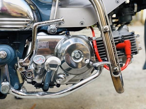 """Honda Super Cub 1968 biển tứ quý 6"""" rao giá 100 triệu gây xôn xao-6"""