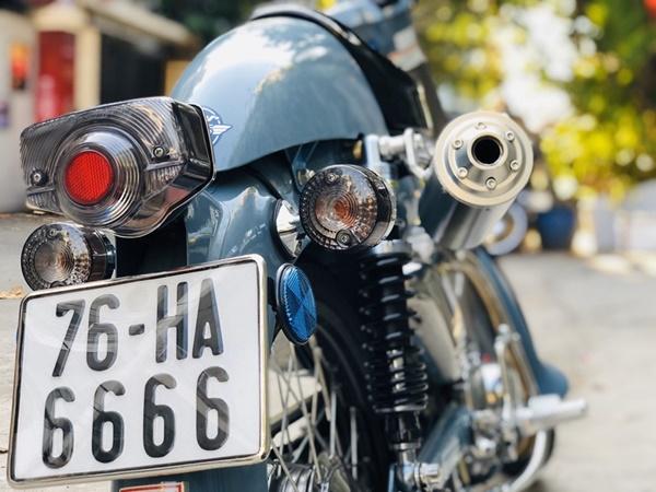 """Honda Super Cub 1968 biển tứ quý 6"""" rao giá 100 triệu gây xôn xao-7"""