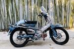 """Honda Super Cub 1968 """"biển tứ quý 6"""" rao giá 100 triệu gây xôn xao"""