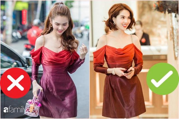 Nhìn sự cách biệt váy hiệu – váy chợ của Ngọc Trinh mới thấy photoshop có tác dụng thần kỳ thế nào-1