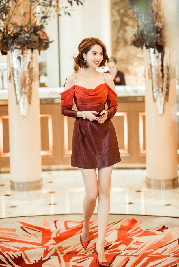 Nhìn sự cách biệt váy hiệu – váy chợ của Ngọc Trinh mới thấy photoshop có tác dụng thần kỳ thế nào-5