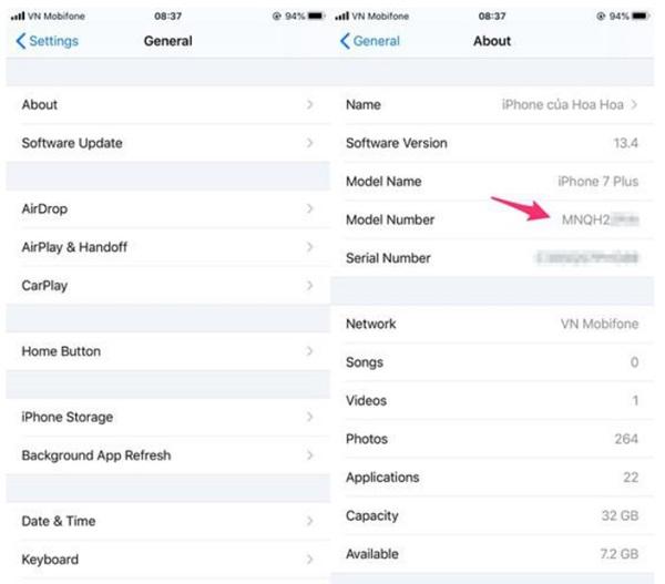 Cách kiểm tra iPhone của bạn có phải hàng tân trang hay không?-1
