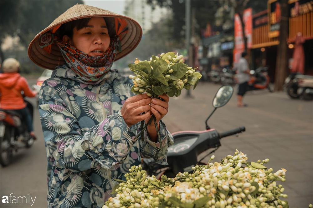 Chùm ảnh: Mùa hoa bưởi đã tỏa hương khắp đường phố Hà Nội, nhìn thấy lòng ai cũng xao xuyến, nhất định phải mang về mới thôi-10