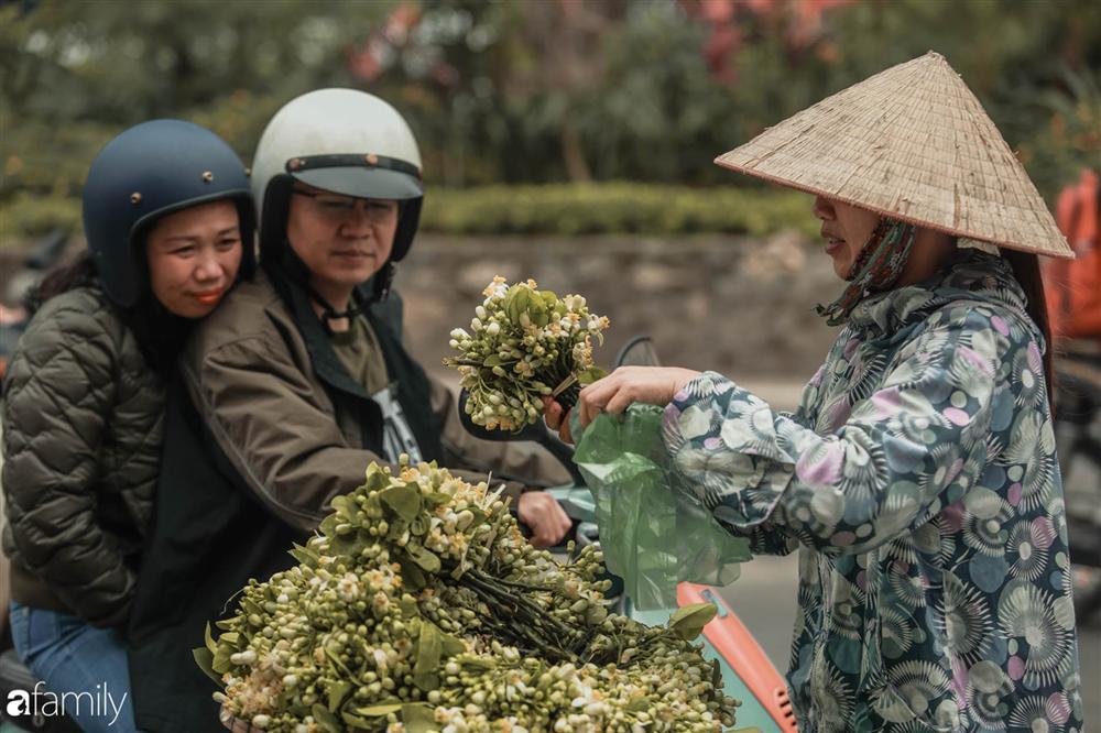 Chùm ảnh: Mùa hoa bưởi đã tỏa hương khắp đường phố Hà Nội, nhìn thấy lòng ai cũng xao xuyến, nhất định phải mang về mới thôi-13