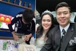 Duy Mạnh tự tay pha sữa cho Quỳnh Anh uống: