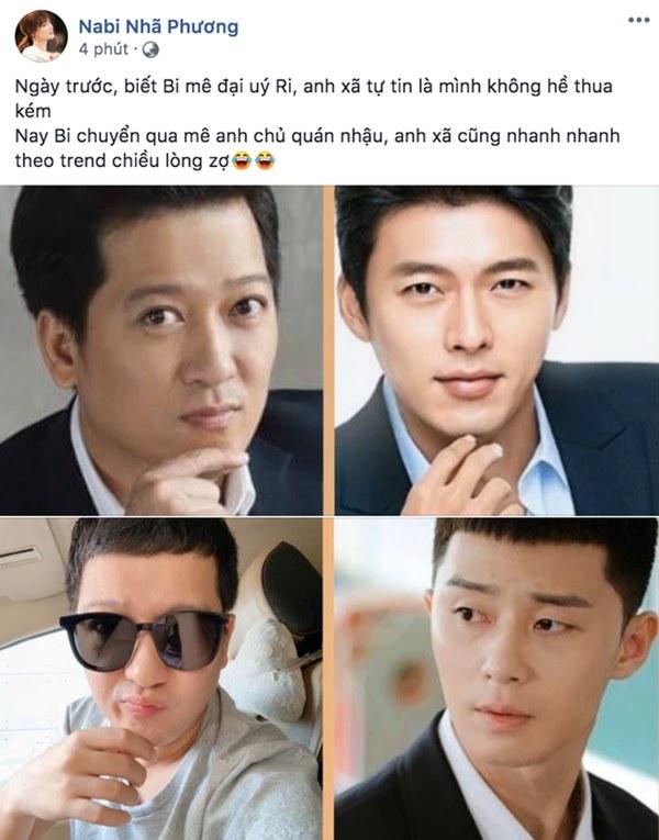 """Nịnh vợ như Trường Giang: Sẵn sàng xuống tóc"""" đúng kiểu ngố tàu của Park Seo Joon chỉ vì Nhã Phương mê Tầng lớp Itaewon""""-1"""