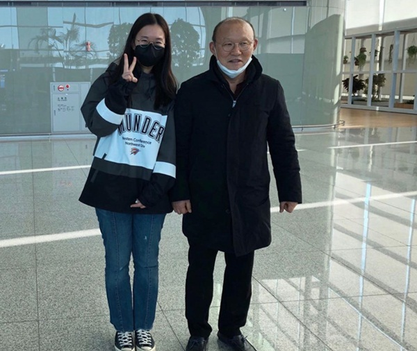 HLV Park Hang-seo trên đường trở lại Việt Nam-2