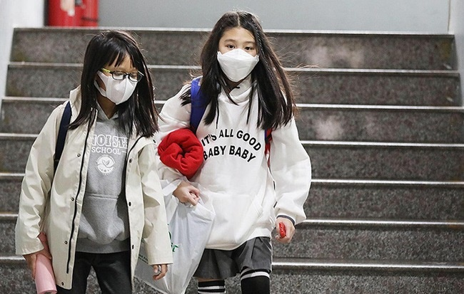 Hàn Quốc chính thức hoãn kỳ học mới trên toàn quốc, học sinh nghỉ đến 9/3-1