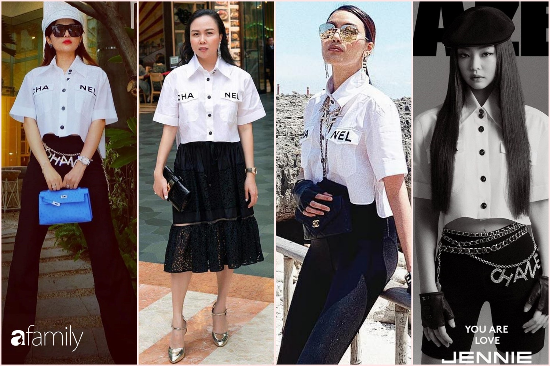 Vợ đại gia Minh Nhựa bắt trend hơi chậm, chẳng ngại so kè style từ Phượng Chanel đến Jennie-7