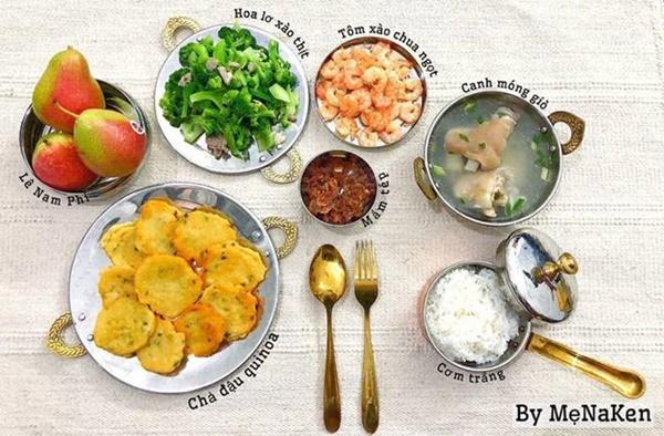 Mẹ Hà Nội khoe mâm cơm gia đình cả tuần, ai nhìn cũng chỉ ao ước được... ăn một lần-3