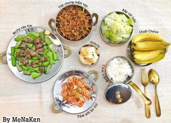 Mẹ Hà Nội khoe mâm cơm gia đình cả tuần, ai nhìn cũng chỉ ao ước được... ăn một lần-4