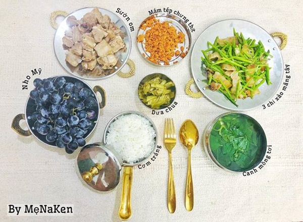 Mẹ Hà Nội khoe mâm cơm gia đình cả tuần, ai nhìn cũng chỉ ao ước được... ăn một lần-14