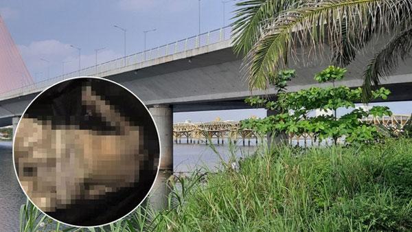 Thi thể phụ nữ bị mất đầu, đang phân hủy mạnh trôi dạt vào bờ biển Đà Nẵng-1