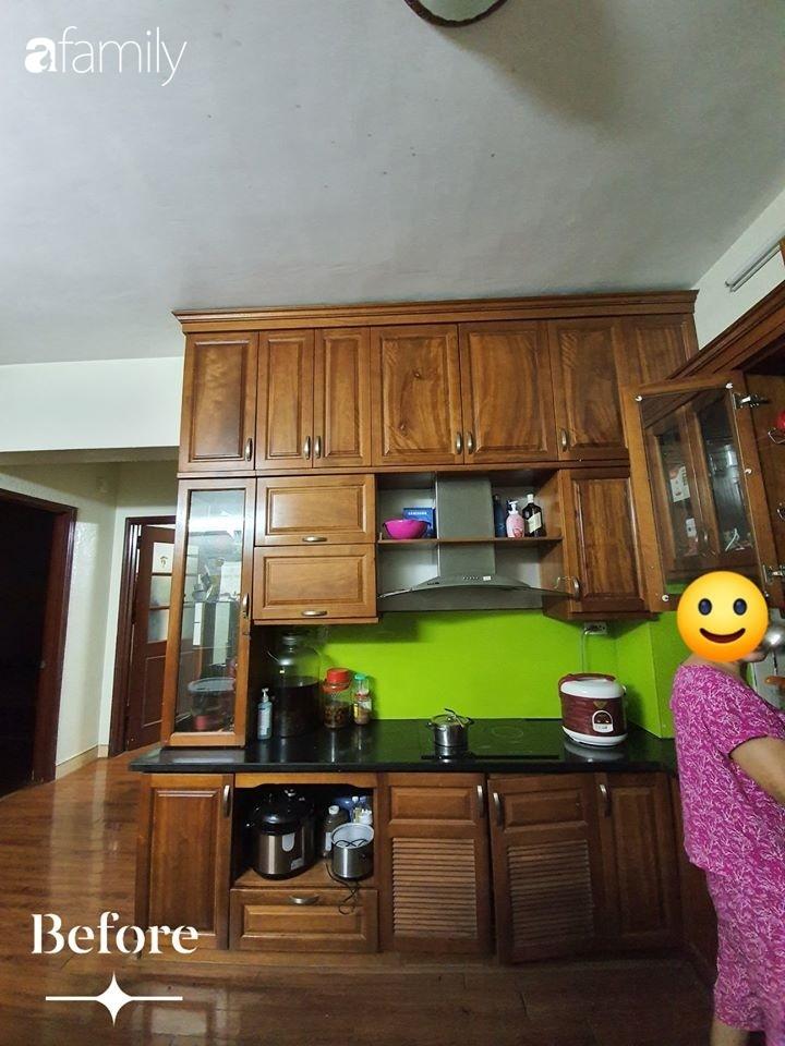 Cuộc cải tổ cho căn hộ 75m² với chi phí 350 triệu đồng, mẹ đảm ở Hà Nội khiến ai cũng công nhận nhà vừa đẹp vừa sang-1