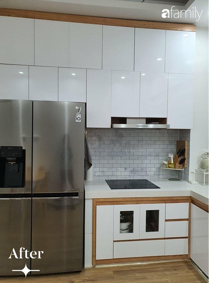 Cuộc cải tổ cho căn hộ 75m² với chi phí 350 triệu đồng, mẹ đảm ở Hà Nội khiến ai cũng công nhận nhà vừa đẹp vừa sang-2