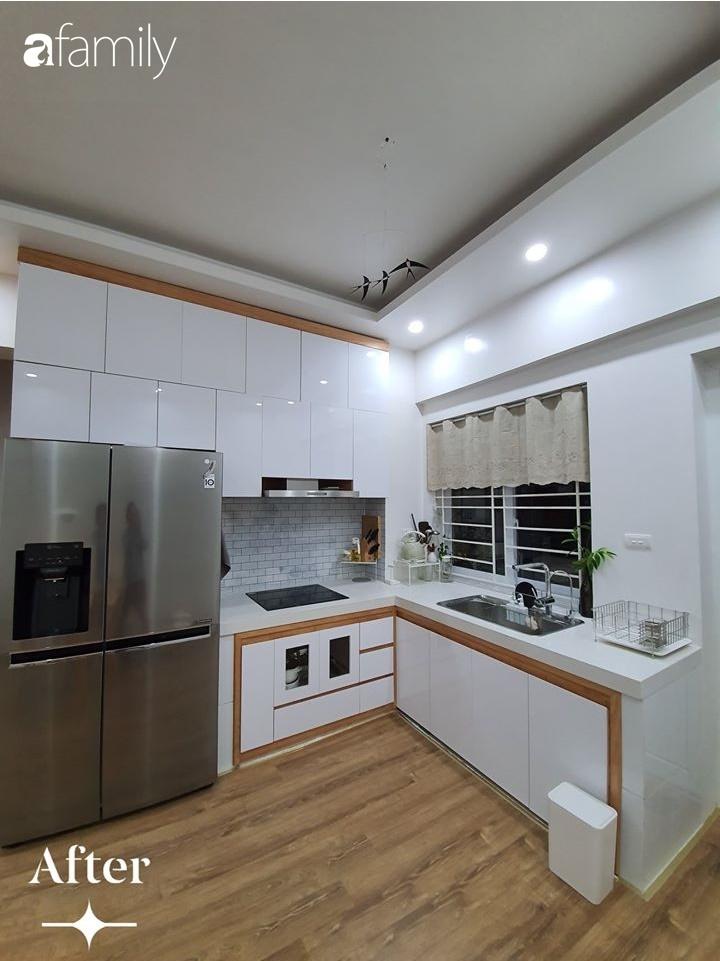 Cuộc cải tổ cho căn hộ 75m² với chi phí 350 triệu đồng, mẹ đảm ở Hà Nội khiến ai cũng công nhận nhà vừa đẹp vừa sang-4