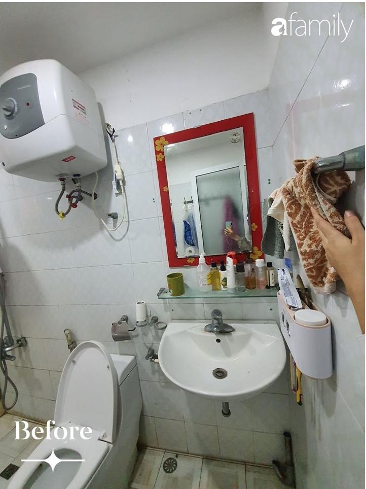 Cuộc cải tổ cho căn hộ 75m² với chi phí 350 triệu đồng, mẹ đảm ở Hà Nội khiến ai cũng công nhận nhà vừa đẹp vừa sang-11